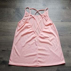 Adorable strappy back tank